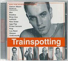 CD BOF / OST 14 TITRES--TRAINSPOTTING--POP/BLUR/NEW ORDER/ENO/ELASTICA