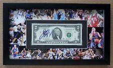 JASON KIDD Signed Two Dollar Bill Framed w/ Photo Mat Display GREAT GIFT! GAI