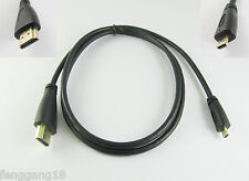 1m Micro HDMI to HDMI Male Adapter Converter Cable Motorola XOOM RAZR EVO HTC 4G