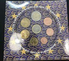 FRANCE Coffret BU Euro 2002 NEUF sous scellé
