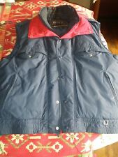 Men's Outdoor Profile Feathered Down Vest Size Xl Very Warm and Comfortable,Soft