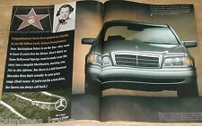 1996 Mercedes Benz 2-page advertisement, Mercedes C220