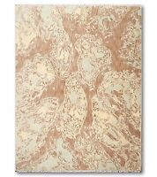 6' x 9' Hand knotted Oriental area rug 100% Wool pile 6x9 Beige