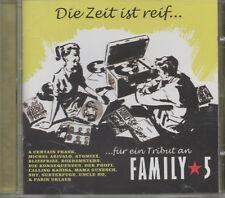Family 5 Die Zeit ist reif CD NEU Farin Urlaub Subterfuge Uncle Ho BlizzFrizz
