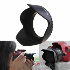 1x 52mm Flower Petal Camera Lens Hood for Nikon Canon Sony Lens Camera Practical