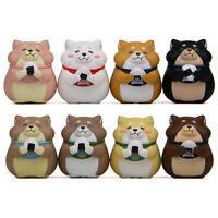 FP- KQ_ Cartoon Resin Sushi Fat Shiba Inu Mold Gardening Ornaments Doll Ornament