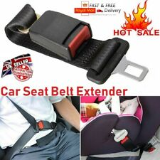 Car Seat Belt Extender Extension Safety Buckle Clip Universal Adjutable Cars UK