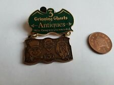 Disney Pin Badge 3 Grinning Ghosts Antiques The Haunted Mansion Limited Edition
