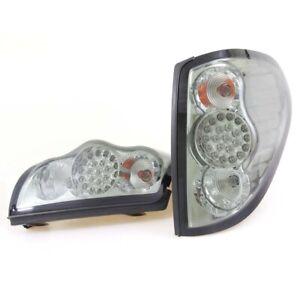 2X RR LED Tail Light Lamp Smoke Black Lens 2005-15 Mitsubishi STD ML L200 Pickup