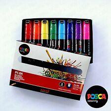 POSCA Art Paint Markers PC-8K Essentials Set of 8 - Box Set