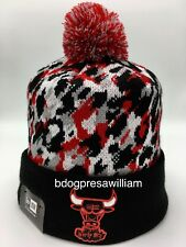 New With Tag's New Era Chicago Bull's Beanie. Multi Color