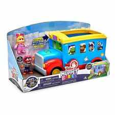 DISNEY Muppet Babies Friendship School Bus Figure Playset The Muppets **NEW**