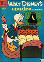 Walt Disney's Comics and Stories #217 Dell October 1958 Donald Duck VG-F