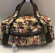 Tokidoki LeSportsac Multicolor Pirata Pirate Large Satchel
