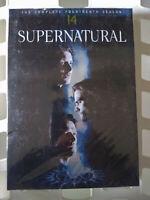 Supernatural - Season 14 (DVD, 2019, 5-Disc Set) Winchesters Brand New, Sealed
