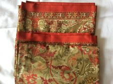 Ralph Lauren Randolph Red King Pillowcases NOP