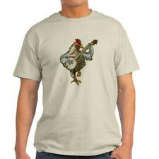 CafePress Banjo Chicken T Shirt 100% Cotton T-Shirt (1378260755)