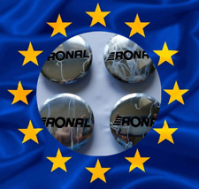 4 x Original Ronal Alloy Wheel Centre Caps - 0030201  64mm