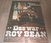A1-Filmplakat   DAS WAR ROY BEAN , PAUL NEWMAN