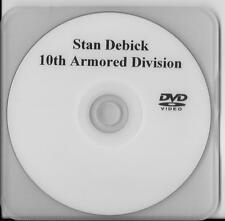 STAN DEBICK 10TH ARMORED DIVISION BATTLE OF THE BULGE VETERAN RARE INTERVIEW DVD