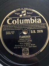 """1951 FRANKIE LAINE 10"""" 78 - FLAMENCO / JEALOUSY - COLUMBIA - D.B.2970"""