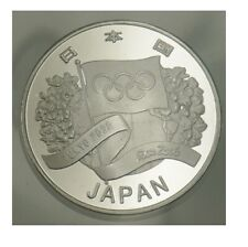 Japan Tokyo 2020 Olympic Games Silver Plated Coin 1oz Rio 2016 new airtite case