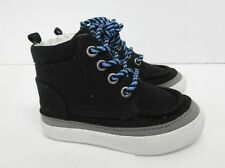 Gymboree High Top Shoe in Black Canvas Toddler Boys' Size: 5