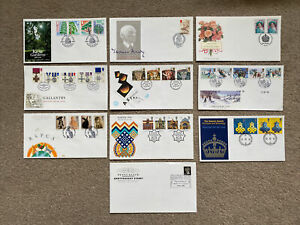 1990 Collection GB First Day Covers (10)