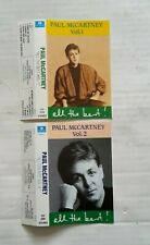 PAUL McCARTNEY ALL THE BEST CASSETTE INSERTS (TURKISH) - no case / tapes