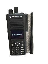 Motorola DP4800 Mototrbo Digital Two Way Radio Walkie Talkie With Base Charger