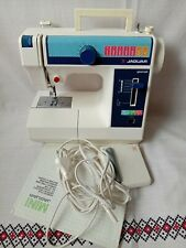 Old Vintage Multi-Operation Sewing Machine JAGUAR mini - 281 Japan 1990s Working