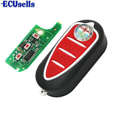 Folding Remote Key Fob 433MHz PCF7946 3 Button for Alfa Romeo 147 156 166 GT