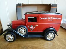 LIBERTY CLASSICS DIECAST FORD MODEL 'A' CANADIAN TIRE CORPORATION MONEYBOX BOXED