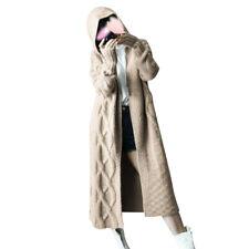 Us Women Mid-length Cardigans Sweaters Long Sleeve Pullover Coat Jacket Outwear