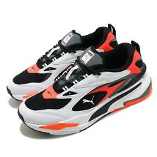 Puma Rs-быстро работает система, черный, белый, красный взрыва мужские повседневные туфли 380562-05