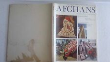 Afghans, Traditional and Modern by Bonita Bray, Hardcover with Dust Jacket