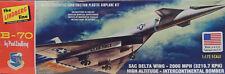 USAF SAC B-70 DELTA WING BOMBER LINDBERG 1:172 SCALE PLASTIC MODEL AIRPLANE KIT