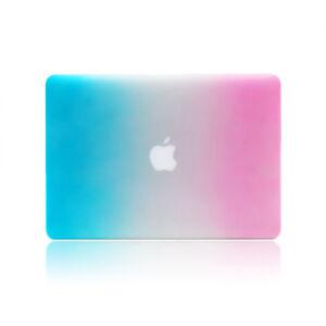 "Matte Rainbow Hard Case Laptop Shell For MacBook Air 13"" A1466/A1369"