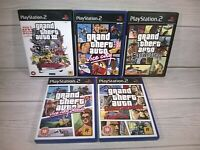 PS2 Grand Theft Auto Collection All 5 Games Rockstar Playstation UK Pal VGC