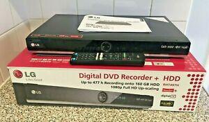 LG RHT497H DVB-T Freeview 160GB HDD DVD Recorder Boxed Looks Unused