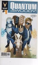 QUANTUM AND WOODY #1,2,3,4 2013 NM/NM+ VALIANT TV SHOW COMING! &