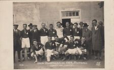 Olympic Games Real Photo Postcard. Paris. Switzerland Football Team. Paris 1924
