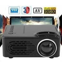 Mini HD 1080P LED Projector Multimedia Home Theater Support  Built-in Speaker