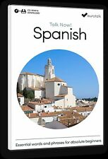 Eurotalk Talk Now Spanish for Beginners - Download option and CD ROM