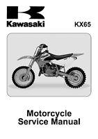New Kawasaki KX 65 2000 2001 2002 2003 2004 2005 Workshop Service Repair Manual
