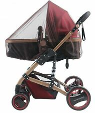coffee Insect fly Cover Mosquito net for Pram/Stroller sun dust protect mesh