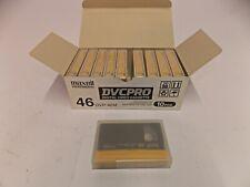 Maxell Professional DVP-46M 10 Stück DVCPRO Digital Video Cassette unbenutzt  jh