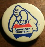 Vintage American Tourister Button Pin Pinback