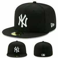 New York Yankees New Era 59FIFTY Fitted Cap-5950 Black, MLB Official, Special