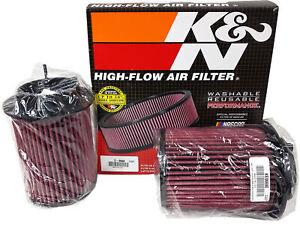 K&N Drop-In Replacement Air Intake Filters for 08-15 Audi R8 4.2 V8